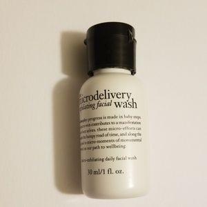 3/$15 Philosophy Micro-exfoliating Facial Wash 30m
